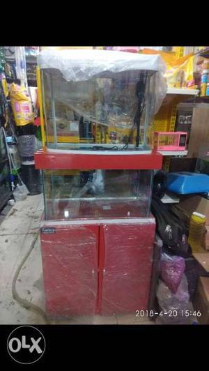 Imported aquarium and toys, drift wood, hole