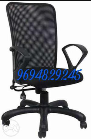 New net back office Chair with lock function
