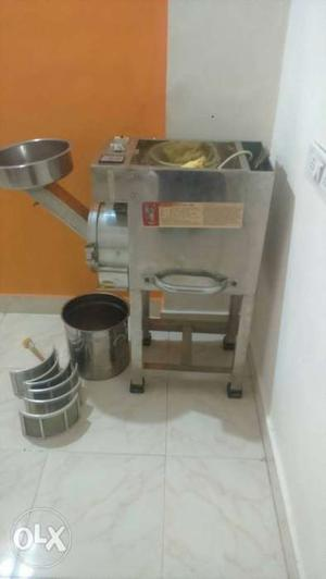 Grey Stainless Steel Electric Machine