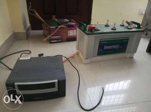 Luminous inverter and battery