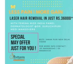 Quality Treatment and Affordable cost of Laser Hair Removal