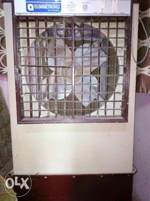 White And Brown Summerking Portable Air Cooler 3 months old
