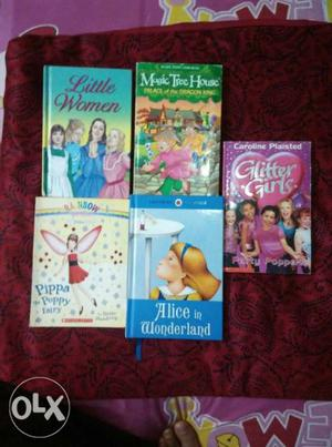 Neat and clean books for girls... in a very gud