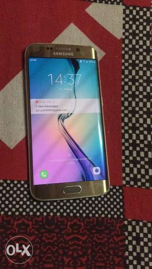 Samsung galaxy s6 Edge in a very good condition