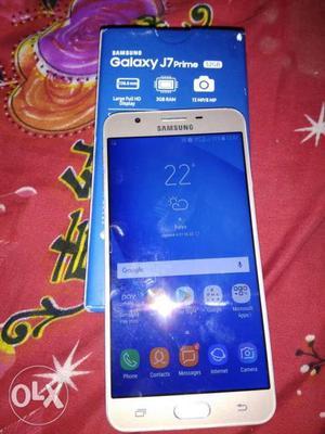 Samsung j7 prime 3gb ram 32 gb rom bill box pda change