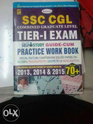 SSC CGL TIER 1 EXAM With 70+ Practice sets