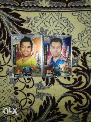 Two champions teams captain Dhoni 85 Rohit 88