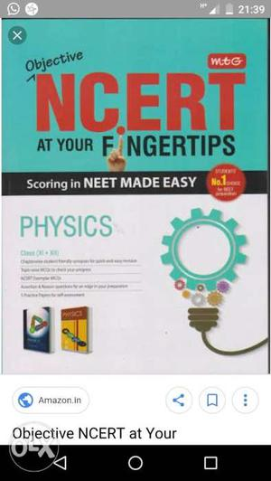 Very good book for neet exam and all exam