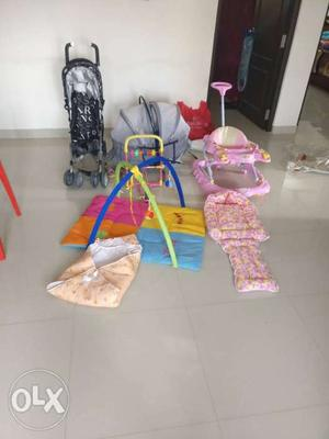 Baby Combo: 1. Foldable Stroller, 2. Foldable