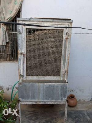Gray And Brown Evaporative Air Cooler