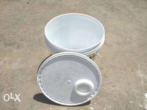 100 Rs per bucket its 100 bucket in good