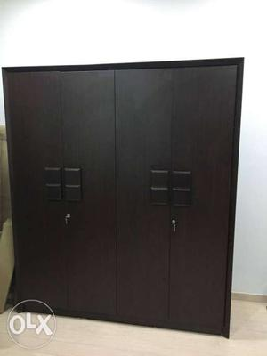 4 door wardrobe, 7 months old, bought from