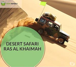 Best Desert Safari Ras Al Khaimah Tour Package | +91-