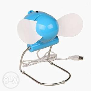 USB Batteries Operated Fan Air cooling for laptop