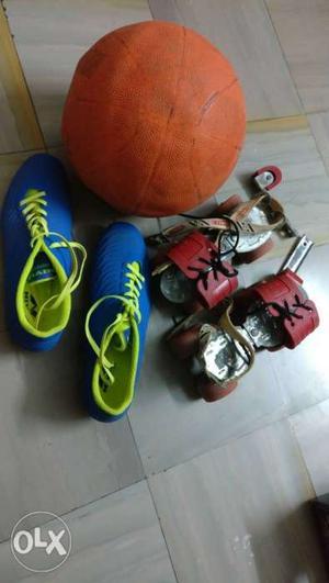 1pc nivia dominator shoes football size 6 UK used