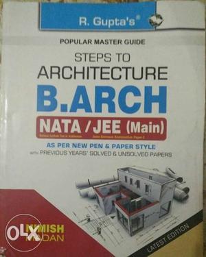 Barch, for architecture (NATA) exam..(market