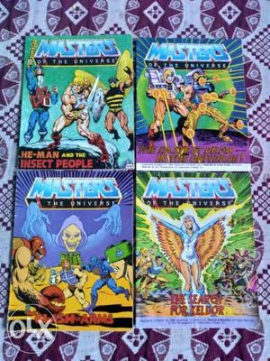 He Man mini Comics for sale Hi all I am selling