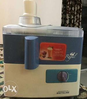 Maharaja white line juicer mixer grinder in good