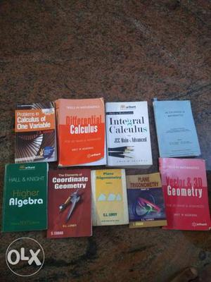 Math text books for JEE Mains and Advanced