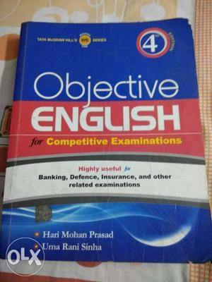 Objective english for competative examination