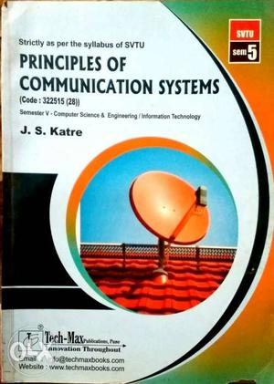 Principles Of Communication Systems Book