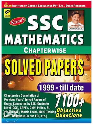 Ssc Cgl Mathematical Solved Questions