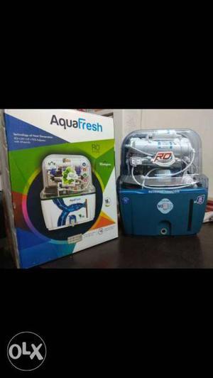 Blue And White AquaFresh Water Dispenser With Box Screenshot