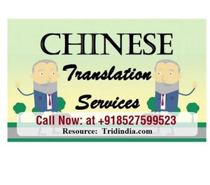 Certified Chinese Translation Services in Andhra Pradesh