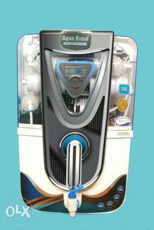 White And Gray Aqua Exsal Water Purifier