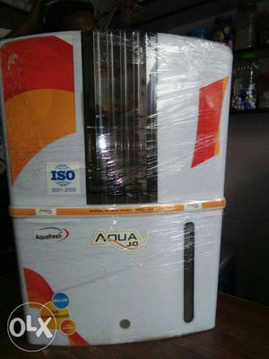 White And Orange Aqua Water Purifier