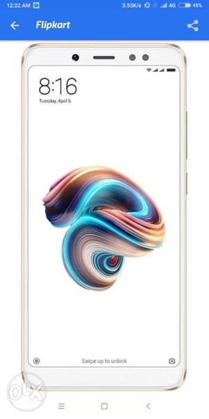 Redmi Note 5 Pro Gold Colour Just 5 day used