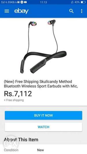 Skullcsndy method wireless Bluetooth  rupees