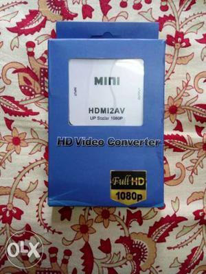 HDMI to av converter new unused.