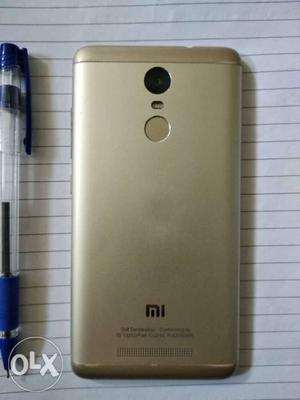 Redmi Note 3 1.year old 3 GB 32 GB charger box