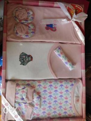 Brand new box packed for new born child, price on