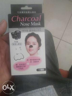 Charcoal Nose Mask Box