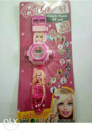 New Barbie Projector Watch for Girls with 24