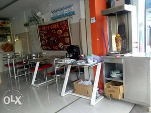 Fully furnished cafteria in bangaluru