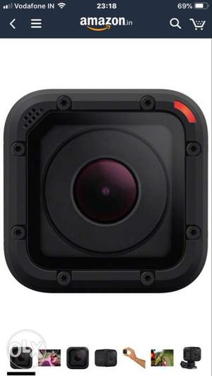 Go Pro Hero session, all accessories available,