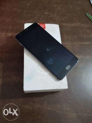 One Plus 3 64GB in Rohini, Delhi Only Silver Good