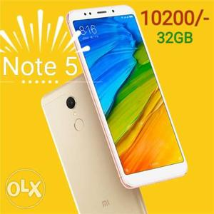 Redmi Note 5 -32GB New Sealed Pack