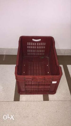 Vegetable and Fruit Crate. Standard size.