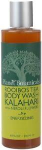 Planet Botanicals Rooibos Tea Body Wash Kalahari With Neroli