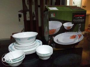 19 Piece Dinner Set by LAOPALA (only used once)
