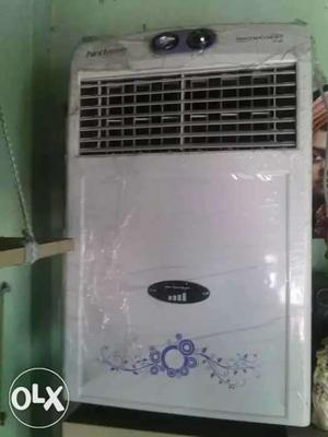 An air cooler one year old