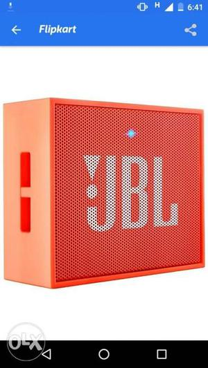 JBL wireless Bluetooth speaker. new piece with