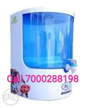 New ro White And Blue Water Purifier