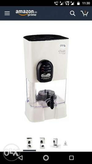 Pureit HUL 14ltr water purifier... 3 days