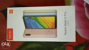 Sealed packed redmi note 5 pro Gold colour sealed