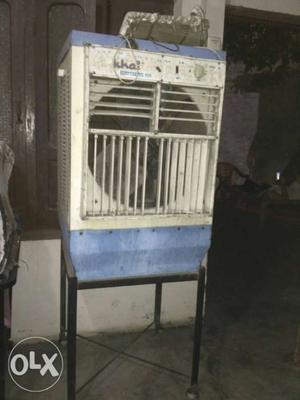 White And Blue Khat Evaporative Air Cooler